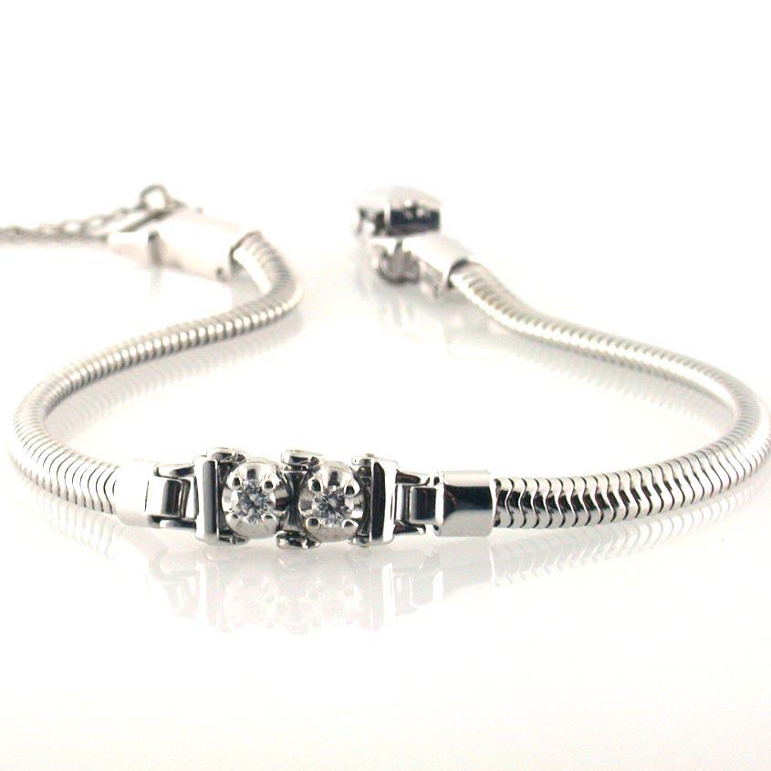 Diamond Add A Link Bracelet