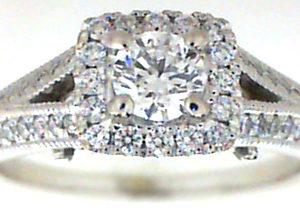 Halo Engagement Ring, Winona, MN