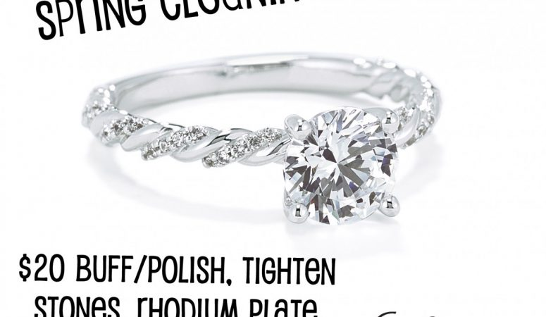 Spring Cleaning – Time to get your rings checked and cleaned