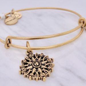 Alex and Ani Compass Gold
