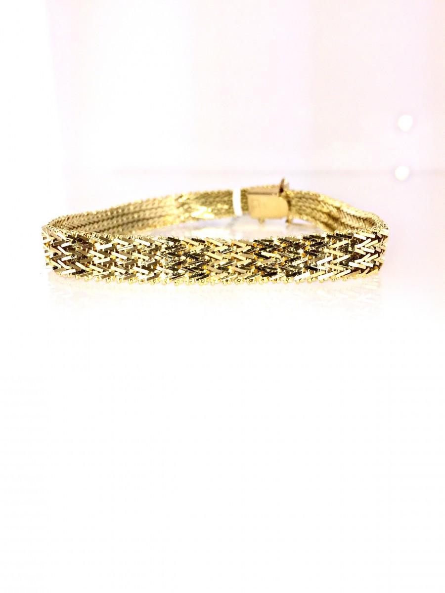Estate 14k Yellow Gold Bracelet