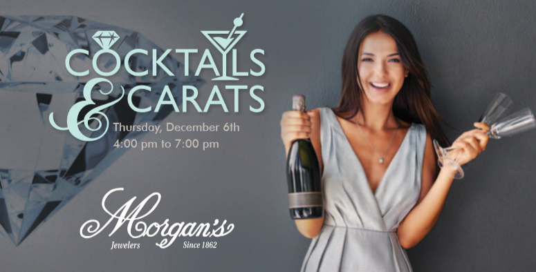 Cocktails and Carats: December 6th. Save The Date!