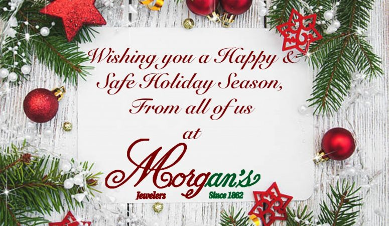 Happy Holidays From Morgan's!