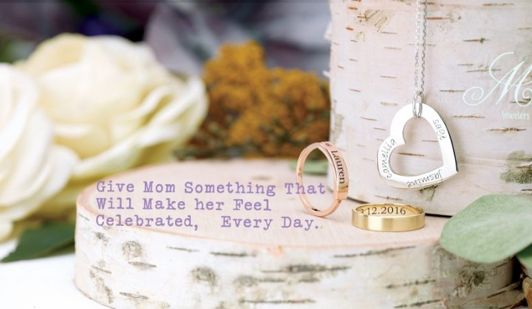 Personalized Jewelry for Mother's Day!
