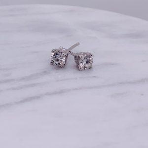 lab grown earrings